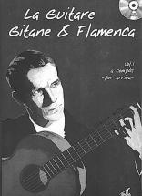 Worms Claude - Guitare Gitane & Flamenca + Cd Vol.1 - Guitare Tab