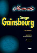 Gainsbourg Serge - Memento - Paroles Et Accords
