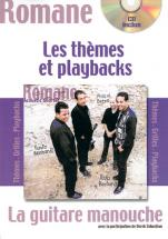 Romane - Guitare Manouche - Thèmes Et Playbacks + Cd