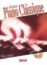 Minvielle-sebastia P. - Initiation Au Piano Classique + Cd - Piano