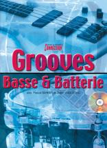 Sarfati, D'agostino - Grooves Basse Et Batterie + Cd - Basse, Percussions