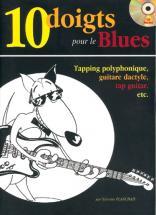 Planchais Sylvester - 10 Doigts Pour Le Blues + Cd - Guitare