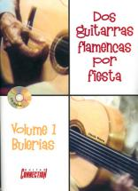 Worms Claude - Dos Guitarras Flamenca Por Fiesta Vol. 1 + Cd - Guitare