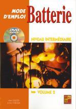 Thievon Eric - Batterie Mode D'emploi Intermediaire + Dvd - Batterie