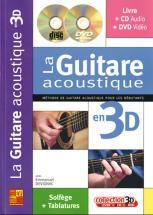 Devignac Emmanuel - La Guitare Acoustique En 3d Cd + Dvd