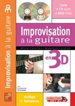 Devignac Emmanuel - Improvisation A La Guitare En 3d Cd + Dvd