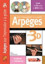 Desgranges Bruno - Arpèges Pour L'improvisation à La Guitare En 3d Cd + Dvd