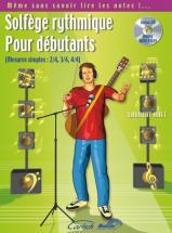 Huet Laurent - Solfege Rythmique Pour Debutants + Cd