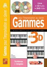 Dautigny Frederic - Gammes Pour L'impro Au Clavier En 3d Cd + Dvd