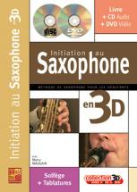 Maugain Manu - Initiation Au Saxophone En 3d Cd + Dvd