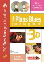 Pox Pochon Daniel - 200 Plans Blues Pour La Guitare En 3d Cd + Dvd