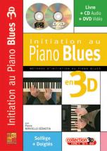 Minvielle-sebastia - Initiation Au Piano Blues En 3d Cd + Dvd