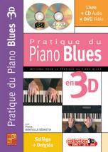 Minvielle-sebastia - Pratique Du Piano Blues En 3d Cd + Dvd