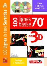 Delacoudre Francois C. - 100 Ligne De Basse 70's En 3d Cd + Dvd