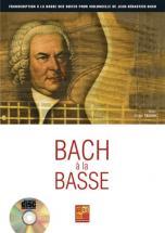 Tauzin Bruno - Bach A La Basse + Cd