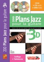 Robert Yannick - 200 Plans Jazz Pour La Guitare En 3d + Cd + Dvd