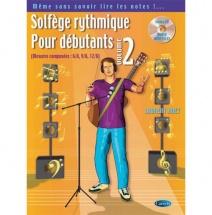 Huet L. - Solfege Rythmique Pour Debutant Vol. 2 + Cd