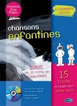 Lanone Franck - Chansons Enfantines Pour Piano + Cd