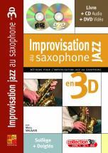 Maugain Manu - Impro Jazz En 3d + Cd + Dvd - Saxophone