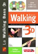 Sarfati Pascal - Walking Bass En 3d + Cd + Dvd - Basse