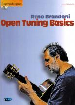 Brandoni Reno - Open Tunings Basics + Cd - Guitare