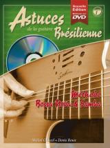 Roux D. Et Ghuzel M. - Astuces De La Guitare Bresilienne Vol.1 + Cd + Dvd - Guitare