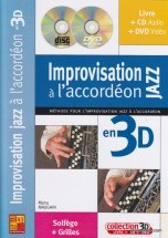 Maugain M. - Improvisation Jazz A L'accordon En 3d + Cd + Dvd