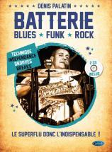 Palatin Denis - Batterie Blues, Funk Et Rock + 2cd