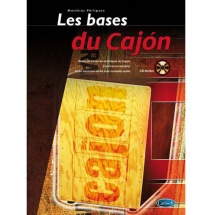 Philipzen Matthias - Les Bases Du Cajon  + Cd - Percussion
