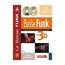 Basse Funk En 3d + Cd + Dvd