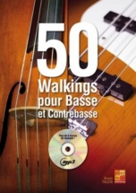 Tauzin Bruno - 50 Walkings Pour Basse Et Contrebasse + Cd