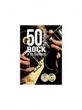 Tauzin B. - 50 Rythmiques Rock A La Guitare + Cd + Dvd