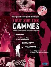 Rime Christophe - Tout Sur Les Gammes + Cd - Guitare
