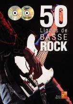 Tauzin B. - 50 Lignes De Basse Rock + Cd
