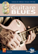 Tauzin Bruno - La Guitare Blues En 3d Cd + Dvd