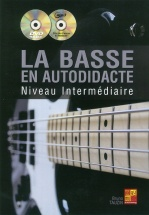 Tauzin Bruno - La Basse En Autodidacte - Niveau Intermediaire + Cd and Dvd