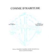 Claude François : Sheet music books