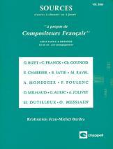 Bardez Jean Michel - Sources Vol. 0954, A Propos De Compositeur Francais - Formation Musicale