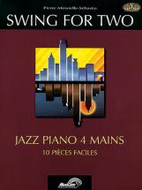 Minvielle-sebastia P. - Swing For Two + Cd - Piano 4 Mains