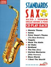 Standards Saxo Alto Et Ténor + Cd