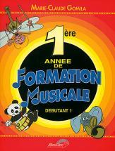 Gomila Marie-claude - 1ere Annee De Formation Musicale