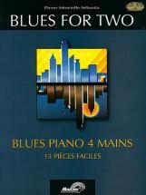 Minvielle-sebastia P. - Blues For Two + Cd - Piano 4 Mains