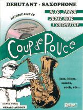 METHODE - ROUX and AUDOUX - COUP DE POUCE DÉBUTANT SAXOPHONE + CD NOEL