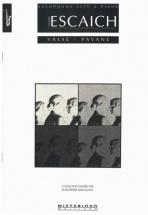 Escaich Th. - Valse-pavane - Saxophone Alto Et Piano