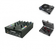 Native Instruments Mixars Mx-duo Mkii + 2x Onetwo + Coffret Ortofon Cc-tw-digitrack