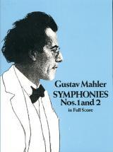 Mahler G. - Symphonies N°1 & 2 - Full Score