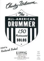 Wilcoxon Charley - All American Drummer - 150 Rudimental Solos - Batterie