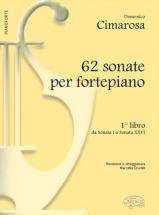 Cimarosa Domenico - 62 Sonate Fortepiano B.1 - Piano