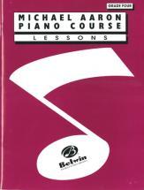 Aaron Mickael - Piano Course Lessons Grade 4 - Piano