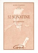 Clementi Muzio - 32 Sonatine Vol. 1 - Piano